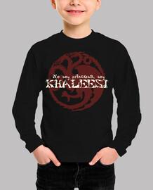 Camiseta para niño o niña No soy princesa, soy KHALEESI