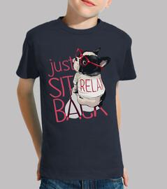 Camiseta para niño o niña relax