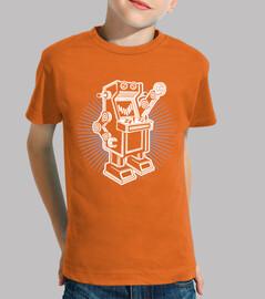 Camiseta para niño o niña Robot arcade