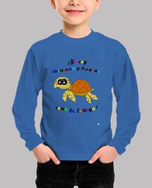 Camiseta para niños de tortuga marina