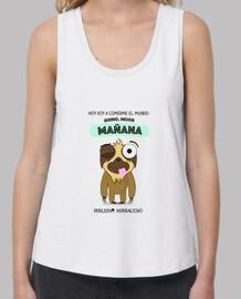 Camiseta para perezosas vagas