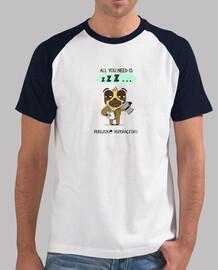 Camiseta para perezosos que necesitan 3 cafés