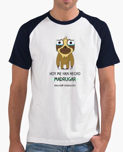 Camiseta para perezosos sensibles a madrugar