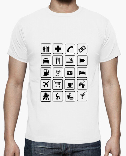 Camiseta para viajar