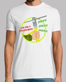 Camiseta Paracaidista Mosquetón mod.3