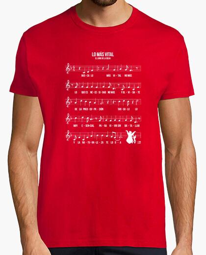 Camiseta Partitura Lo Más Vital El Libro de La S