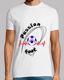 camiseta pasión pie me encanta el fútbol