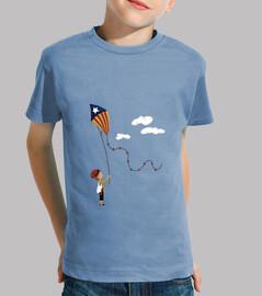 camiseta: patufet, els nostres somnis volen alt!