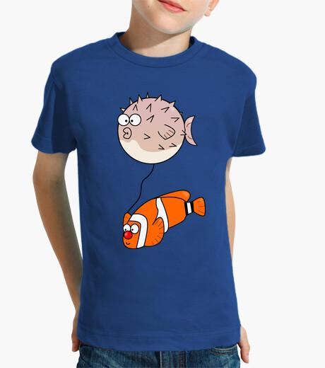 Ropa infantil Camiseta Peces