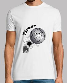 camiseta pelota de tirador de petanca existe en el puntero