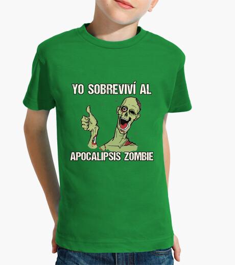 Ropa infantil Camiseta peque Superviviente