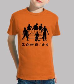 Camiseta peque Zombies