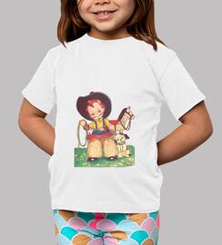 Camiseta Pequeño cowboy