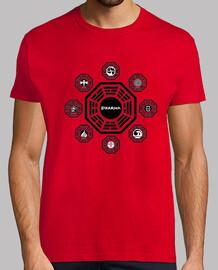 Iniciativa Latostadora Camisetas Populares Dharma Más HWadaq c670c453ed8
