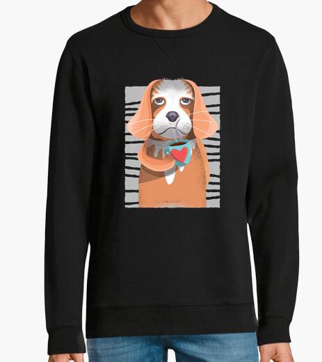 Jersey Camiseta perro del café