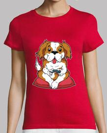 Camiseta Perro gamer