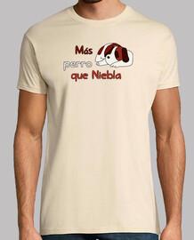 Camiseta Perro Niebla