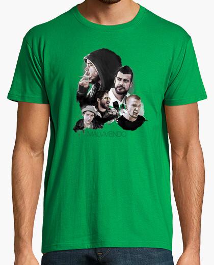 Camiseta Personajes Malviviendo