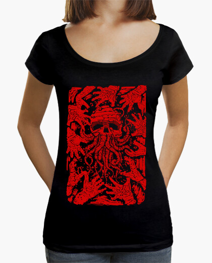 Camiseta pesadilla roja