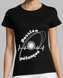 camiseta petanca passion mujer fs electrocardiograma