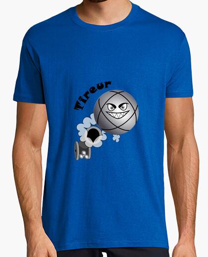 Camiseta petanca tirador niño pelota existe en el puntero n