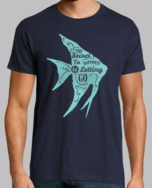 Camiseta Pez Frases Estilo Retro Vintage Mar
