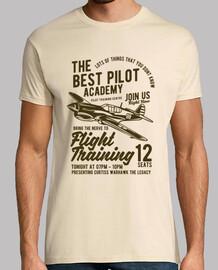 Camiseta Pilotos Retro Vintage Instructor