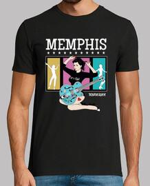 Camiseta Pinup 1950s Rockabilly Memphis