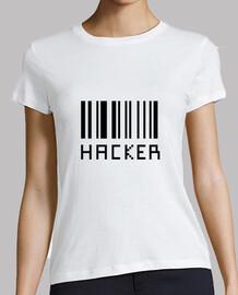 camiseta pirata informático - friki - piratería