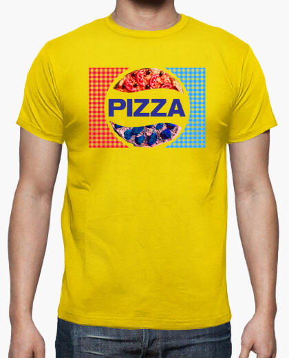 Camiseta Pizza Cola