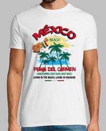 Camiseta Playa del Carmen México Beach