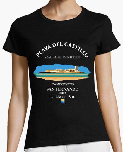 Camiseta Playa del Castillo - Camposoto -...