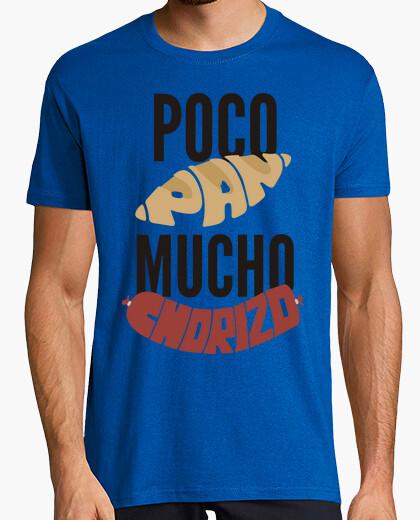 Camiseta poco pan tanto chorizo spanish revolutio