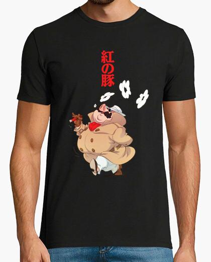 Camiseta Porco Rosso