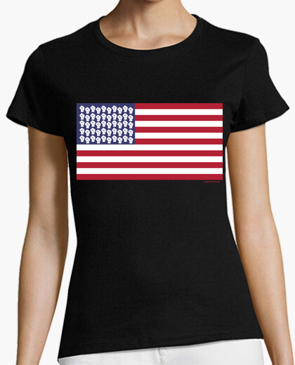 Camiseta Power Black USA