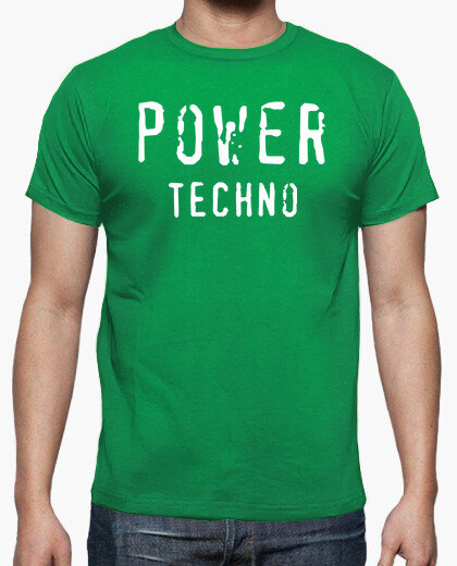 Camiseta Power Techno Green By Blum...