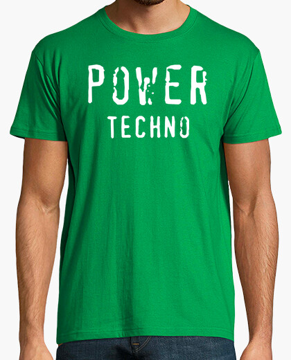 Camiseta Power Techno Green By Blum Recordings Label
