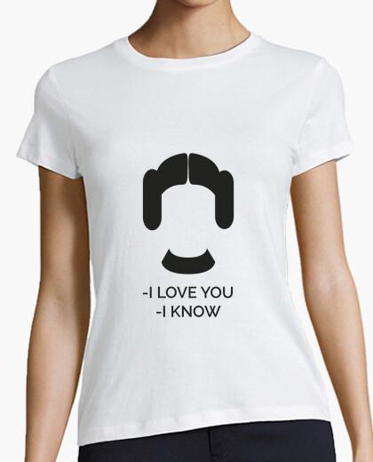Camiseta Princesa Leia