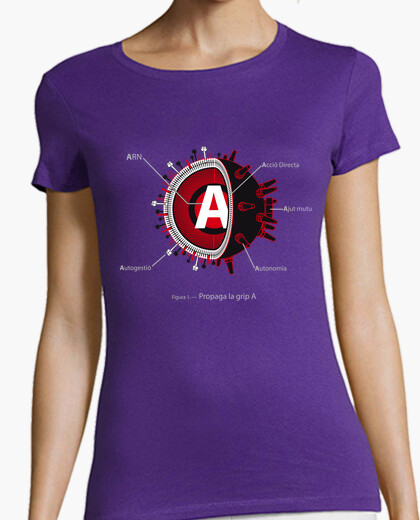 Camiseta Propaga la GRIP A - Entallada,...