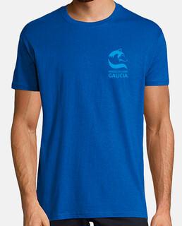 Camiseta Proxecto Lobo Galicia. Impresión trasera.