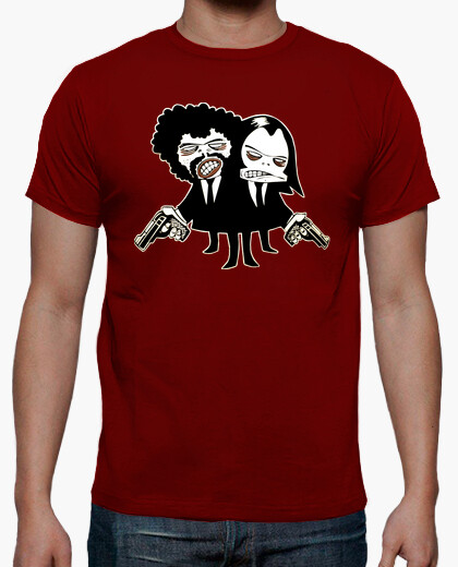 Camiseta Pulp Fiction friki cine