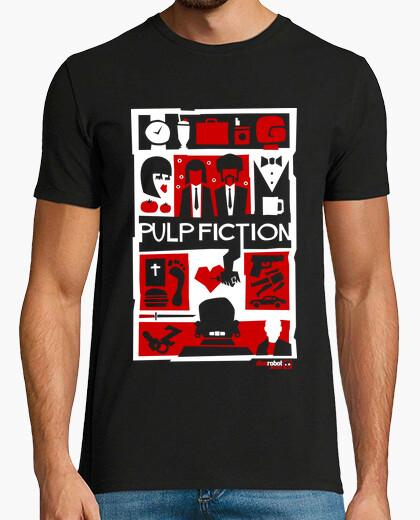 Camiseta Pulp Fiction (Saul Bass Style) 2