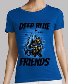 Camiseta Pulpo y Buzo Amigos