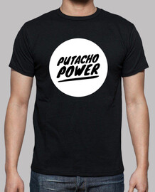 CAMISETA PUTACHO POWER