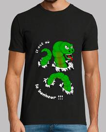 camiseta que es o la felicidad blanca del hombre
