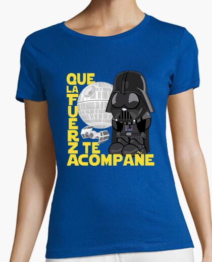 Camiseta Que la Fuerza te acompañe Star Wars - chica