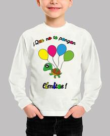 Camiseta Que no te ponga límites