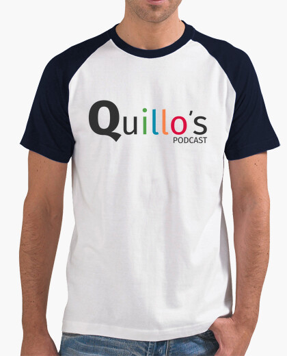 Camiseta Quillo's Podcast - La del Logotipo (hombre)