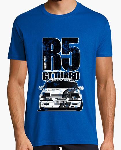 Camiseta R5 GT TURBO RASGADO ByN