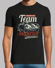 Camiseta Racing Cars Retro Vintage